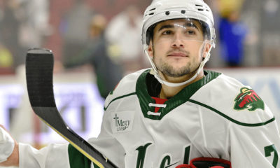 Anas Historic Goal Propels Wild to 6-4 Victory in Manitoba