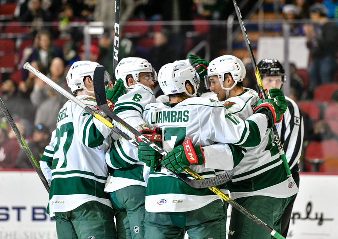 Anas, Mayhew Score in Shootout to Lead Wild to 5-4 Victory