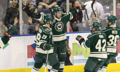 Bauman, Wild Extinguish Heat in Overtime