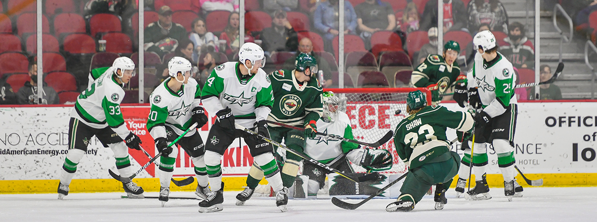 Third Period Surge Sends Wild to Fifth Straight Victory, 5-4